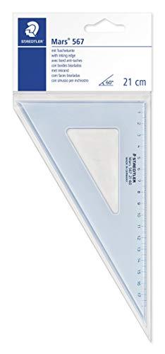 Staedtler 567 21-60 Zeichendreieck (21cm, 60/30)