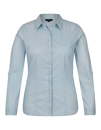 Bexleys Woman by Adler Mode Business-Bluse Hellblau 42