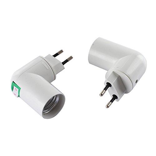 tinxi® E27 Zoccolo di lampada/lampadine zoccolo Adattatore