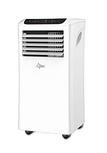 SUNTEC Climatiseur Mobile Effect 7.0 Eco R290-7000 BTU Climatisation Portables, Ventilateur, Déshumidificateur, Set Isolation fenêtre, Tuyau d'évacuation [Classe énergétique A]