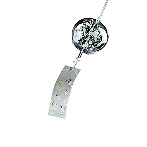 Goodplan Premium Qualität Kreative Japanische Handgemachte Glasmalerei und Windspiele Tür Dekoration Geschenk für Mädchen Stil 6