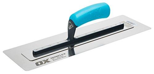 OX Pro Semi Flex Stainless Steel Trowel 16in / 405 x 125 mm