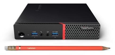 Lenovo ThinkCentre M700 Flagship High Performance Tiny Desktop | Intel i5-6400T Quad Core | 4GB RAM | 128GB SSD | Windows 10 | 3 Year Lenovo Warranty | USB Mouse & Keyboard (Black)