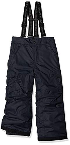 LEGO Wear Unisex Ski Pants With Belt Loops and Adjustable Suspenders, Dark Grey, 6 Yr