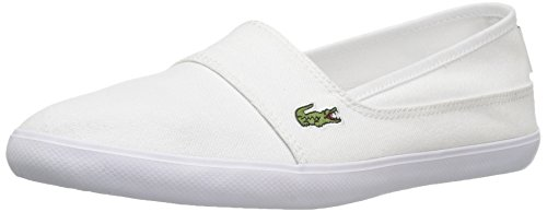 Lacoste womens Marice Bl 2 Sneaker, White Canvas, 7 US