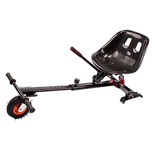 Go-Kart Soporte Silla De Scooter Self Balance con Diseño De Doble Amortiguación para 6,5 8 10 Pulgadas Hoverboard Accesorios Smart Electric Scooter para Derrapar Y Hacer Trucos