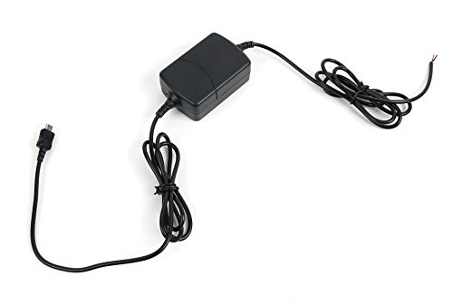 DURAGADGET Adaptateur Chargeur Micro USB pour GPS Tom Tom Via 52 et 62, Go Pro 6250, Rider 42 et 450, avec câble d'Alimentation à Brancher sur Le système électrique de Votre Voiture