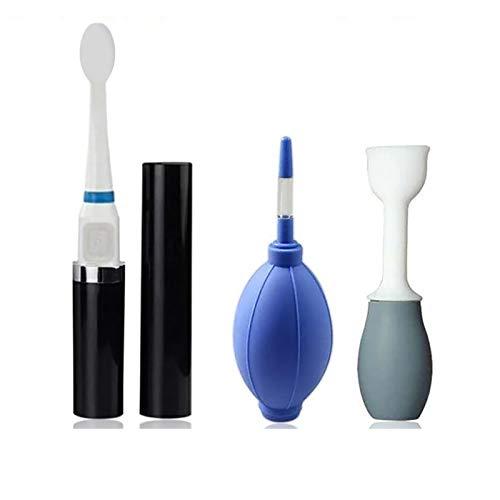 Kit de entrenador de lengua para ejercitador de boca, dispositivo de entrenamiento de silicona muscular de labios de recuperación, cepillo masajeador de músculos bucales para el cuidado de la salud