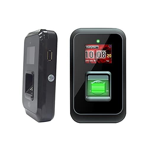 Asistencia de tiempo biométrico USB Huella digital Sistema de asistencia de huellas digitales Grabadora de sensores de huellas dactilares Máquina de empleado para oficina