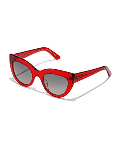 HAWKERS Hyde Sunglasses, rojo, One Size para Mujer