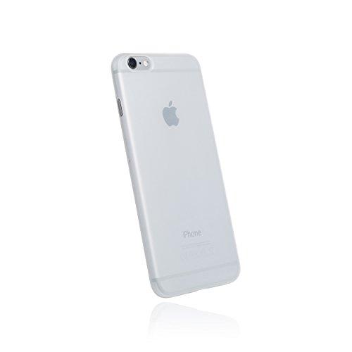 hardwrk Ultra-Slim Case - kompatibel mit Apple iPhone 6 und 6s - matt klar - ultradünne Schutzhülle Handyhülle Cover Hülle in Frost