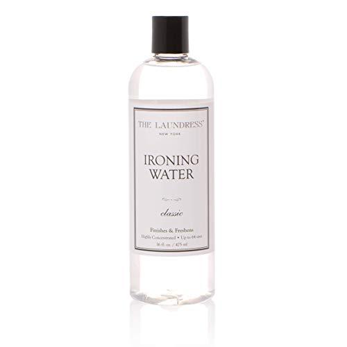 The Laundress - Ironing Water, Classic, Finishes & Freshens, All Fabrics & Furnishings, 16 fl oz, 64 uses