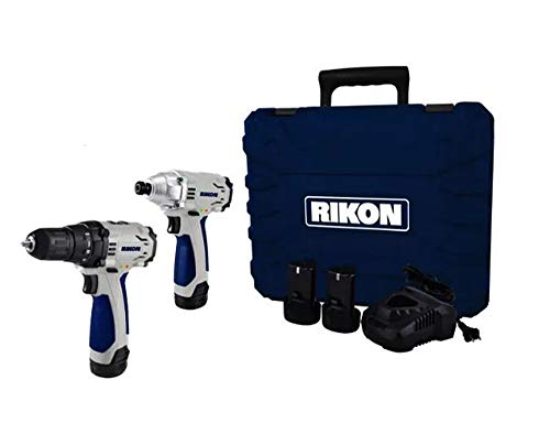 RIKON 12v Li Drill/Impact Driver Co