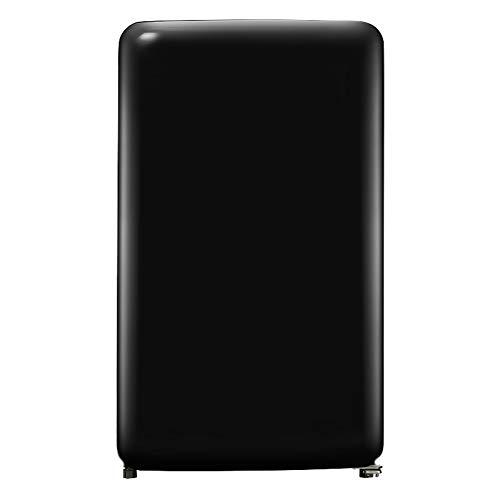 refrigerator Einzeltür-Gefrierschrank Retro Mini-Kühlschrank mit verstellbaren Füßen für Schlafsaal/Schlafzimmer/Büro Kleiner Getränkespeicher kompakter Kühlschrank