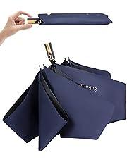 【2021最新版】日傘 ワンタッチ自動開閉 折りたたみ傘 コンパクト 超軽量(260g) 折り畳み日傘 UVカット100 完全遮光 遮熱 紫外線遮断 耐風撥水 晴雨兼用 携帯便利 メンズ レディース 母の日 父の日