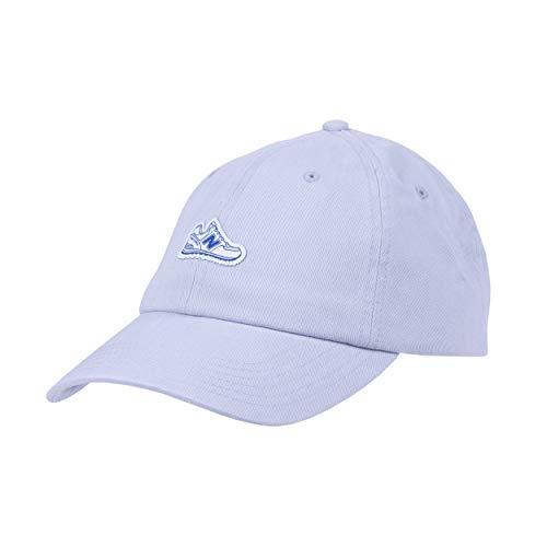 New Balance Adult Cotton Twill Classic 6-Panel Dad Hat, Light Aluminum