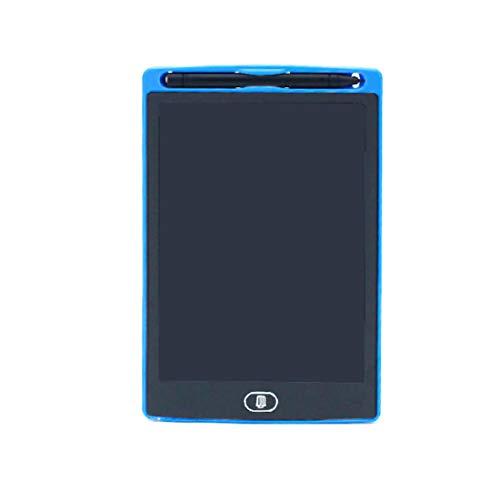 Mesa de dibujo magnética, pizarra digital LCD, mesa de dibujo portátil de 8,5 pulgadas, pizarra borrable, apta para la pintura de familia para niños, regalos (azul, 8,5 pulgadas)