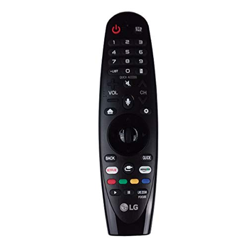 OEM LG AN-MR18BA Magic Remote Control with Netflix and Amazon Buttons Voice Mate for All 2018 4K UHD Smart LG Televisions OLED65W8PUA OLED77W8PUA OLED43W8PUA OLED49W8PUA OLED50W8PUA OLED55W8PUA