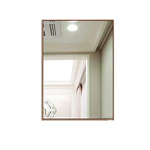 Badkamer Spiegel, RVS muur opknoping muur Spiegel Stofzuiger Plating Tekening Proces Multi-color Optioneel