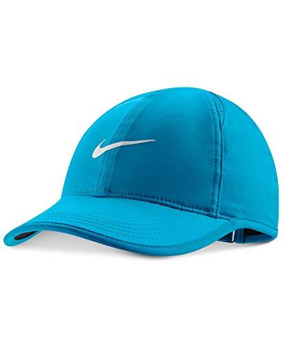 Nike Women's Court AeroBill Featherlight Tennis Cap NEO Turq/Black/NEO Turq/White (NEO Turq/Black/NEO Turq/White)