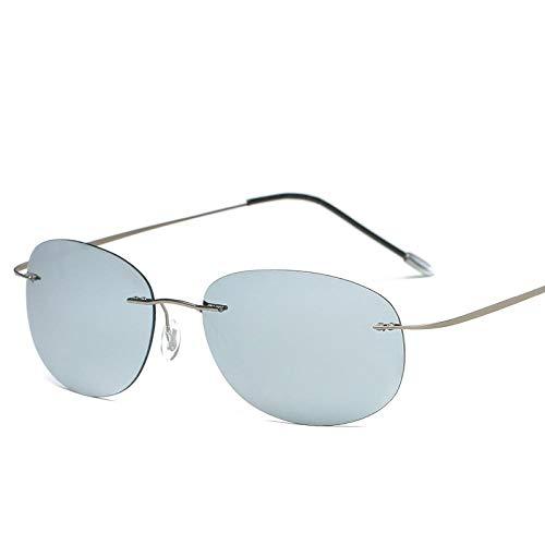 YANPAN Gafas De Sol De Tendencia De Moda Sin Marco Gafas De