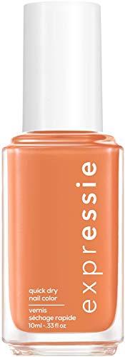 """Essie Schnelltrocknender Nagellack """"expressie"""", Nr. 150 strong at 1%, Koralle, Vegane Formel, 10 ml"""