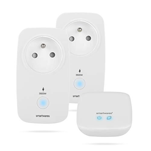 Smartwares - SH8-99901FR - Kit de 2 Prises commandées et 1 contrôleur...
