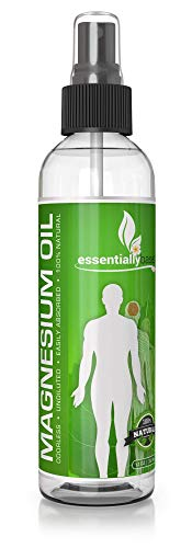 Magnesium Oil Spray - Large 12oz Size - Extra Strength - 100% Pure for Less Sting - Less Itch - Natural Pain Relief & Sleep Aid - Essential Mineral Source