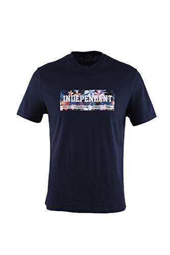 0126Voray Ga Camiseta Hombre algodón Estampado Dibujo Independent