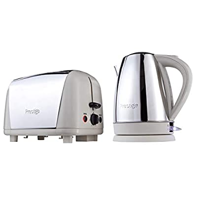 Prestige Create Breakfast Set Includes Kettle and Toaster, Black_Parent
