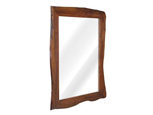 massivum Spiegel Carlow 130x100x5 cm Akazie braun lackiert