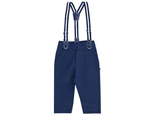 Jacky Baby Jungen Hose mit Hosenträgern festlich Taufmode, Größe:92, Farbe:Marine