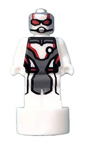 LEGO Super Heroes White Ant-Man Statuette (Quantum Suit) Very Small