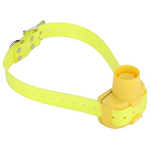 Weikeya Collar de Caza Incorporado, Collar Amarillo Perro Seguro de plástico