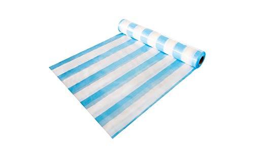 Stabile Dampfbremsfolie Dampfsperrfolie in blau weiß für den Innenausbau geeignet 100 m² (4x25m)