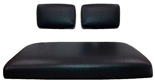 Club Car Pre-2000 DS Custom Golf Cart Seat Cover Set Made with Marine Grade Vinyl - Staple On - Choose Your Color From Our Color Chart!