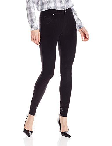 HUE Women's Microfleece Leggings, Black, XS