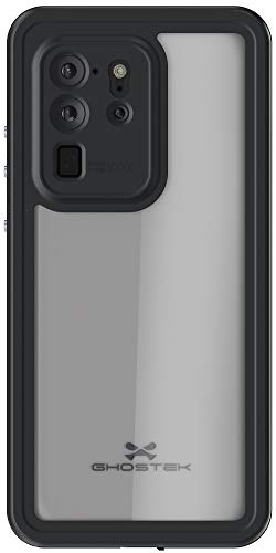 Ghostek Nautical S20 Ultra Waterproof Case with Screen Protector and Camera Cover Slim Protective Military Grade Shockproof Heavy Duty Full Body Shell for 2020 Galaxy S20 Ultra 5G (6.9 Inch) - (Clear)
