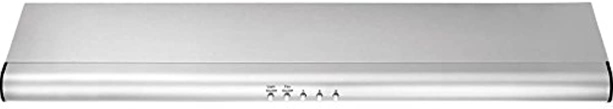 FHWC3040MS 30 Standard Under Cabinet Hood With 330 CFM External Exhaust Dual Halogen Lights Convertible Exhaust Duct Options Dishwasher-Safe Filters In Stainless Steel