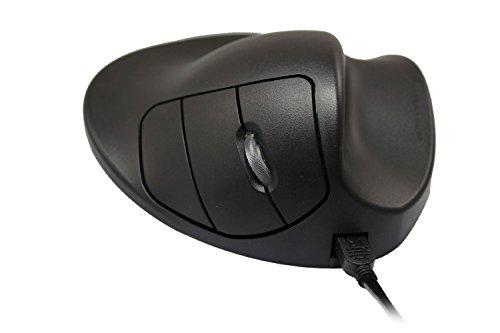 HIPPUS HandShoe Mouse rechts S wireless | Funkmaus | ergonomisches Design - Vorbeugung gegen Mausarm/Tennisarm (RSI Syndrom) - besonders armschonend | 2 Tasten