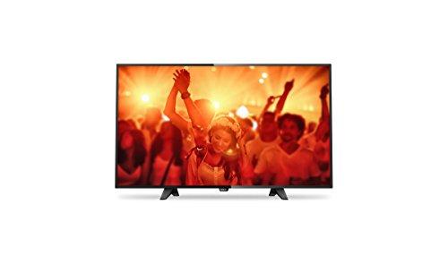 Philips 32PHS4131/12 Ultraflacher 80 cm (32 Zoll) LED-Fernseher mit Digital Crystal Clear, DVB-T/T2/C/S/S2 schwarz