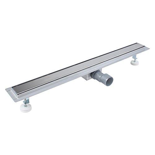 Desagüe para ducha con sifón, canal de ducha, desagüe de ducha, sistemas de drenaje de acero inoxidable para baño o cocina
