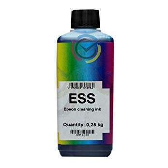Líquido de limpieza de cabezales y boquillas ESS 250 ml solo para impresoras.