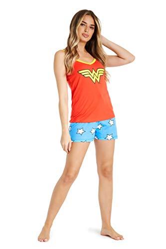 DC Comics Pijamas Mujer Verano, Ropa...