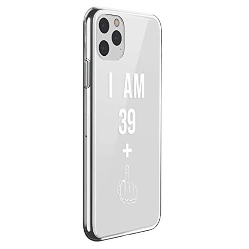 Oihxse Fina Silicona Antigolpes Protectora Funda Compatible con iPhone 5/5S/SE Hermoso Cristal Transparente Slim TPU Antigolpes Cute Texto en Blanco y Negro Adecuado para Niños y Niñas