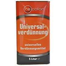 recolor Universal-Verdünnung universelles Verdünnungsmittel 5 Liter
