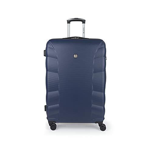 Gabol - London   Maleta de Viaje Grande Dura de 51 x 77 x 31 cm con Capacidad para 115 L de Color Azul