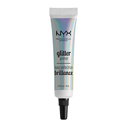 NYX Professional Makeup Basis, Glitter Primer, Fixiergel für losen Glitzer, Lidschatten und Pigment, Langanhaltend