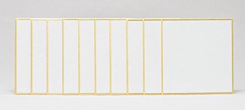 WaterBalloon『小さい色紙シリーズ75×75mm奉書10枚セット』