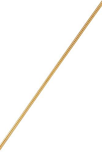 Córdoba Jewels   Pulsera en Goldfilled 14/20 con diseño Cadena Topo Goldfilled